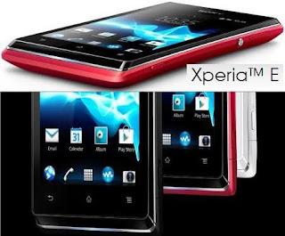 Sony Xperia E price in India pic