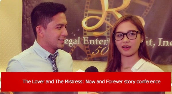 Dennis Trillo and Maja Salvador pair up in Regal Films' movie Now and Forever