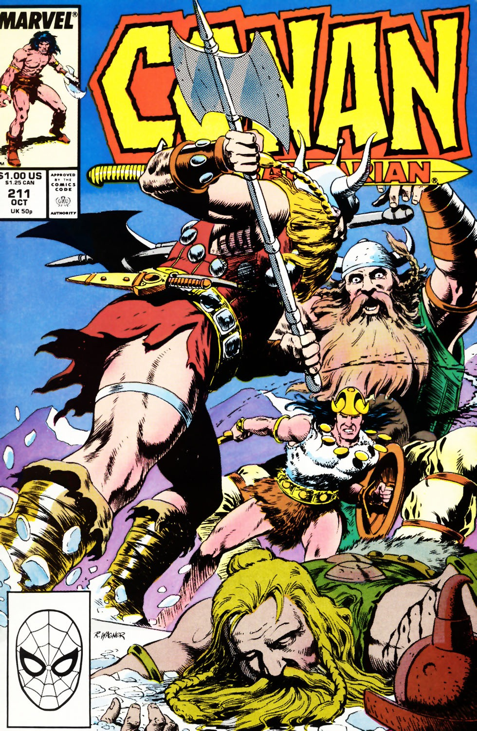 Conan the Barbarian (1970) Issue #211 #223 - English 1
