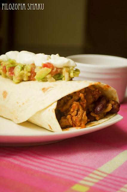 Burrito z guacamole