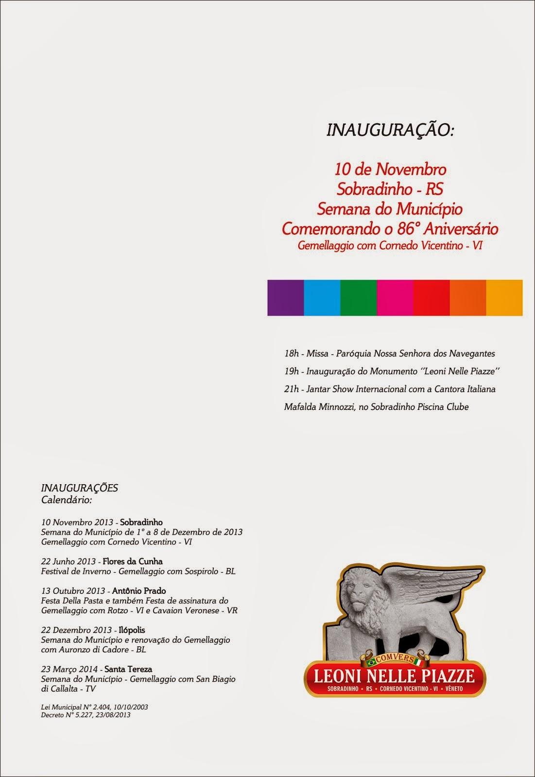 Convite Sobradinho Verso