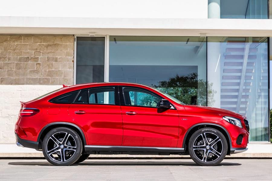 Mercedes-Benz GLE 450 AMG 4Matic Coupé (2015) Side