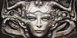 A piece by H.R. GIGER