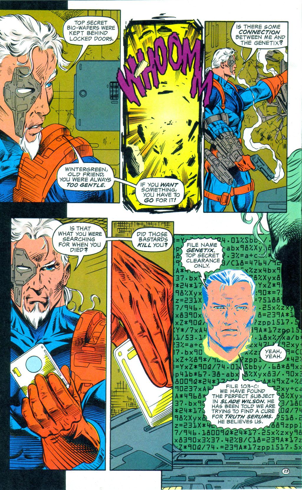 Deathstroke (1991) Annual 3 #3 - English 24