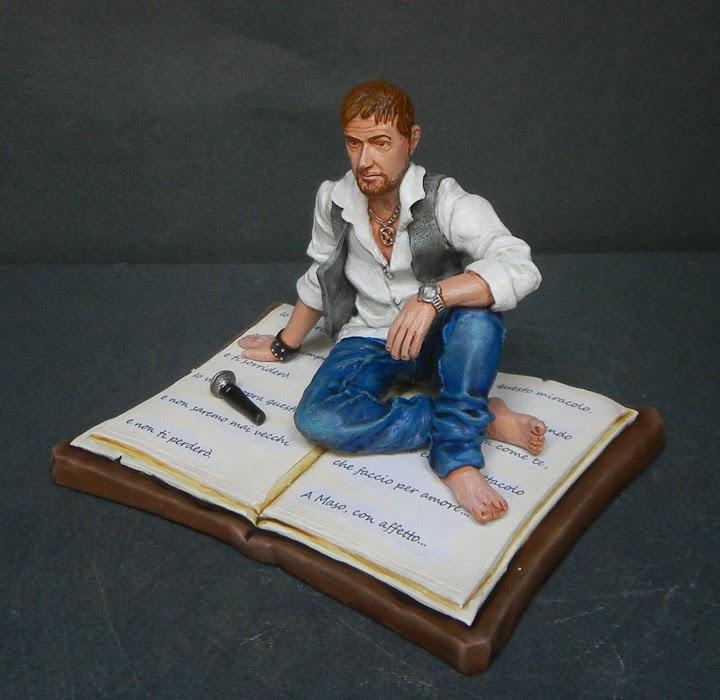 cake topper statuine cantanti personaggi film tv idee regalo orme magiche