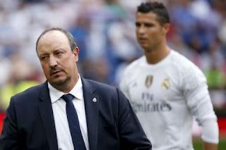 Rafael Benitez-Cristiano Ronaldo-Manchester United.