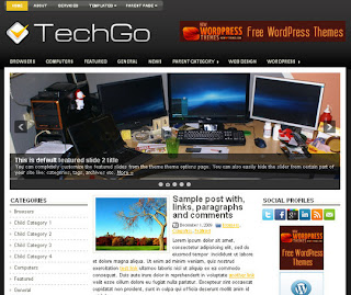WordPress-Template TechGo