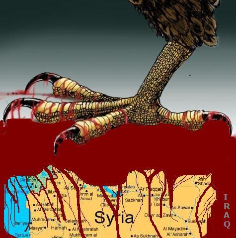 La Turquie prête à déclencher un conflit avec la Syrie... 100+Syrie+les+griffes+de+l'impérialiste