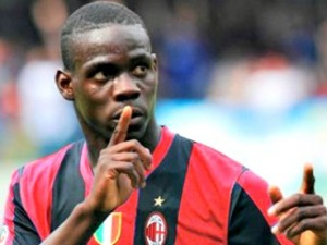 Print Balotelli Gol in Debuted in Milan