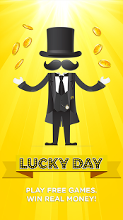 Screenshots of the Lucky Day for Android tablet, phone.