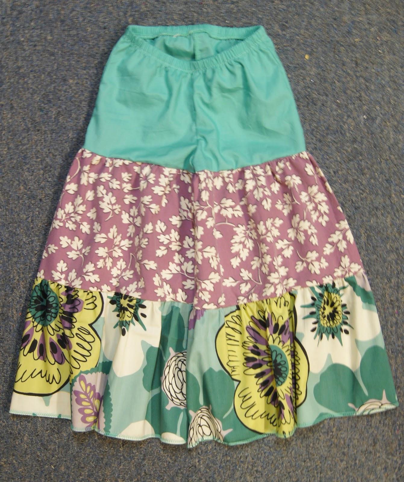 Maxi Skirt Pants That Look Like