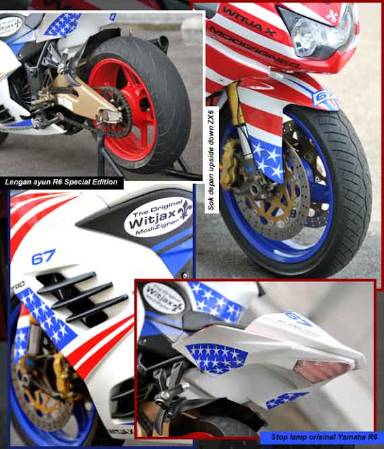 Kawasaki Ninja 250R Modifications American Style