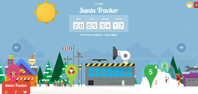 Join Santa and his elves in the countdown to Christmas Eve...