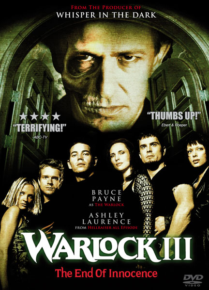 Poster Of Warlock III The End of Innocence 1999 Dual Audio 300MB Web-DL 576p Free Download Watch Online