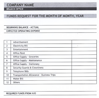 general knowledge library expense report template