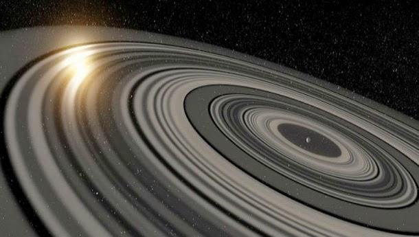 Descoberto planeta com sistema de anéis colossal