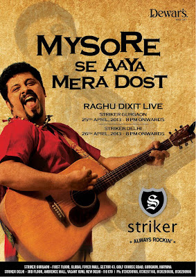 Raghu Dixit - Live Concert in Gurgaon