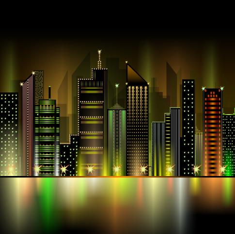 gran ciudad - vectorial
