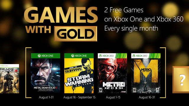 Metal Gear Solid V: Ground Zeroes Gratis en el mes de Agosto con Games With Gold