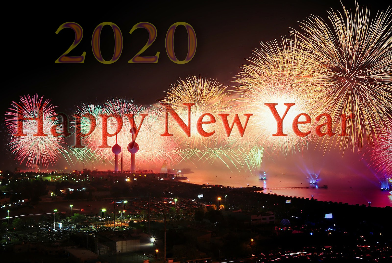 Happy New Year 2020 Wallpapers HD Download Free ~ Happy New Year ...