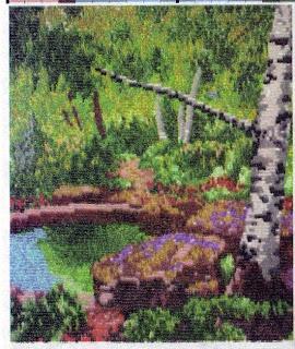 Вышивка бисером сказочный лес