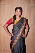 Actress Maneesha Photos in Saree-thumbnail-20