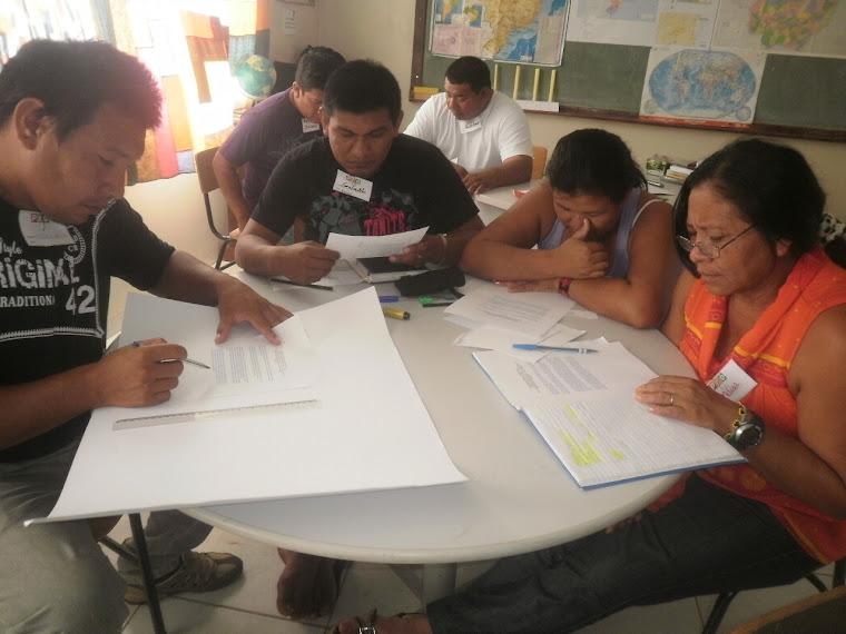 Professores indígenas - etnia Bakairi