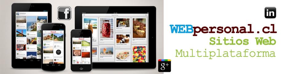 SERVICIOS INFORMATICOS WEBpersonal.cl  ventas@webpersonal.cl