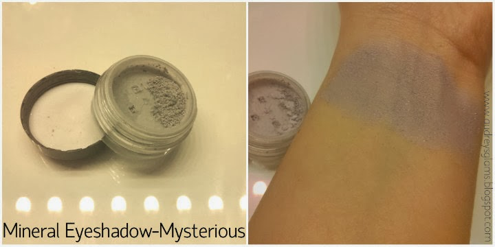 e.l.f. haul swatches review mineral eyeshadow mysterious