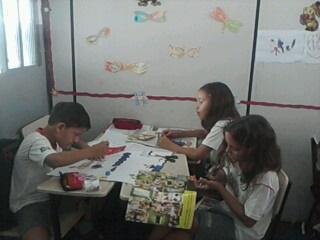 Trabalhando em grupo