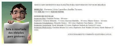 CEF 04 de BRASILIA  Lugar de Gente Feliz !