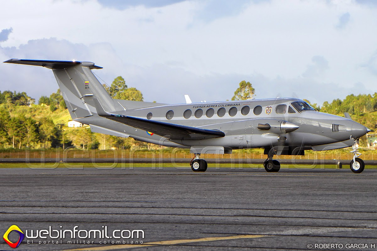 Colombian Air Force King Air FAC5078