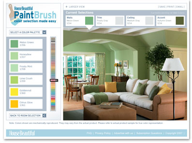 The HB PaintBrush: Paint Color Selection Made Easy