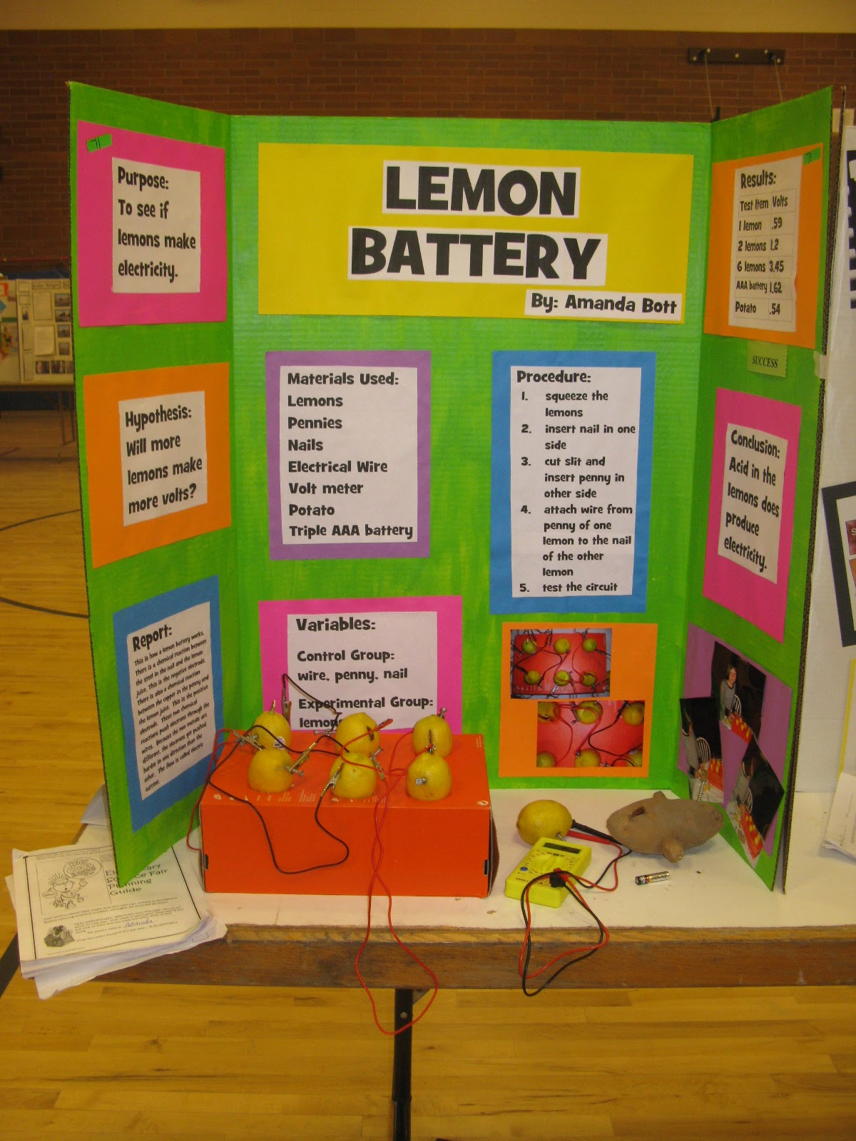 Science Projects For Kids In 5th Grade Updated: declo science fair