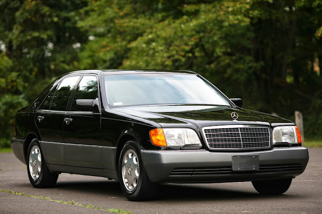 mercedes w140 300sd turbodiesel