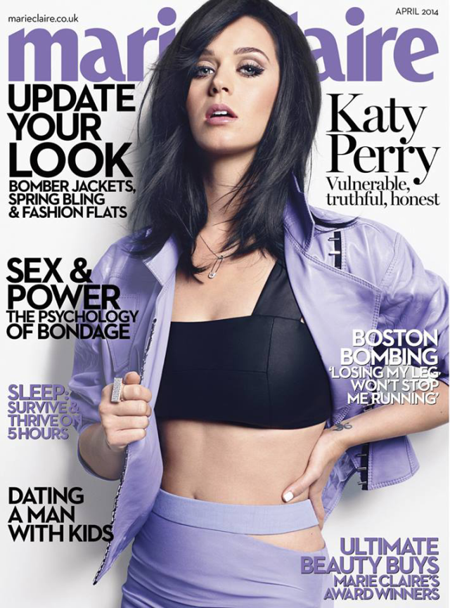 Katy Perry en Marie Claire Magazine Abril 2014