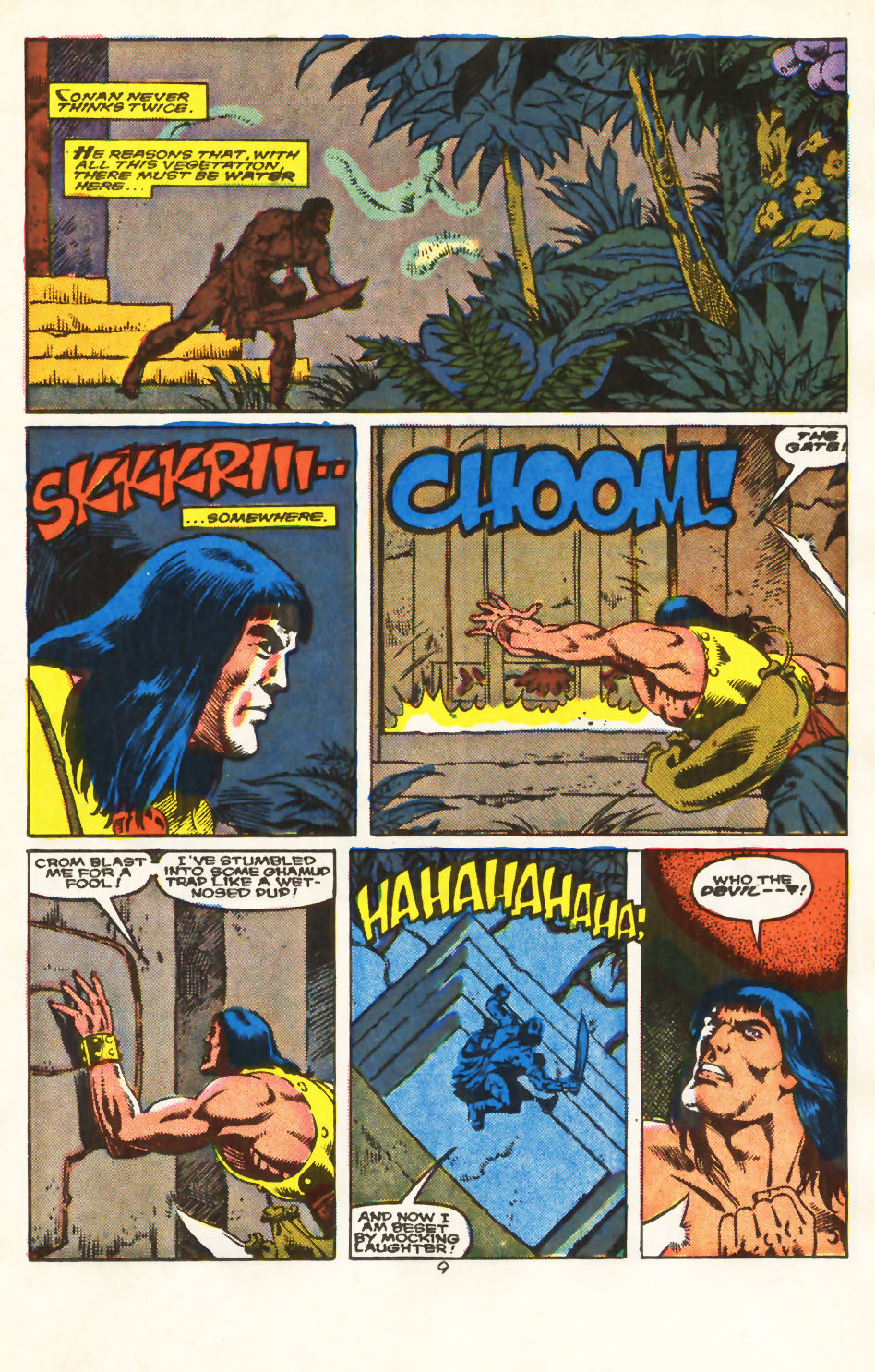 Conan the Barbarian (1970) Issue #213 #225 - English 8