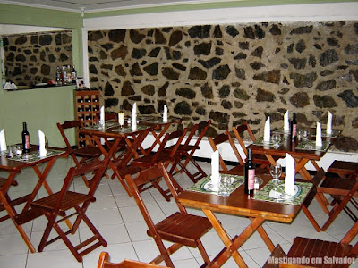 Restaurante Aspargos: Ambiente interno