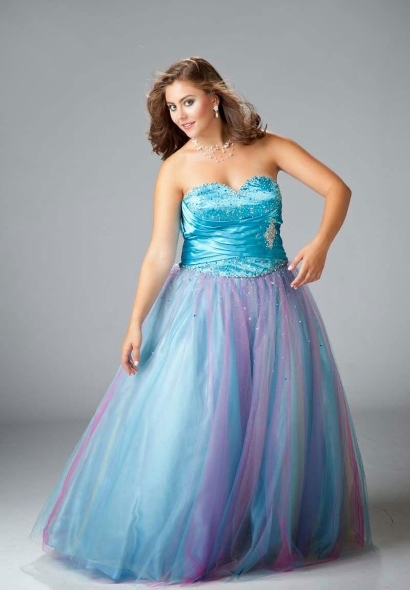 Prom Dress: PLUS SIZE PROM DRESSES