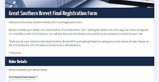 GSB Registration Form