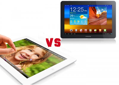 iPad 4 vs Galaxy Note 10.1