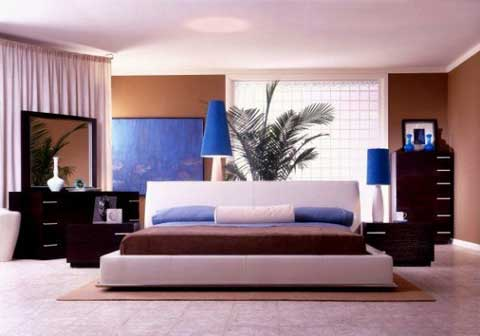 and white color for bedroom decorating ideas ~ Modern Bedroom Ideas