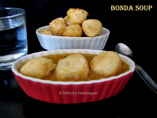 Bonda Soup | step by step pictures