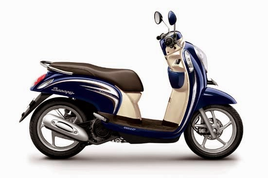 Honda Scoopy FI Stylish Uptown Blue