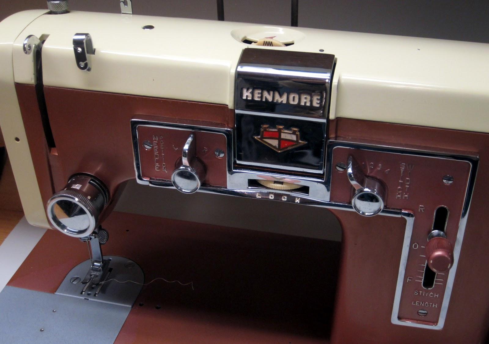 Mi Vintage Sewing Machines Kenmore 117841 1958 Machine Parts Diagram