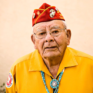 Keith Little - Navajo Code Talker