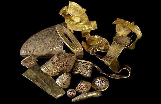 Anglo-Saxon Gold Hoard