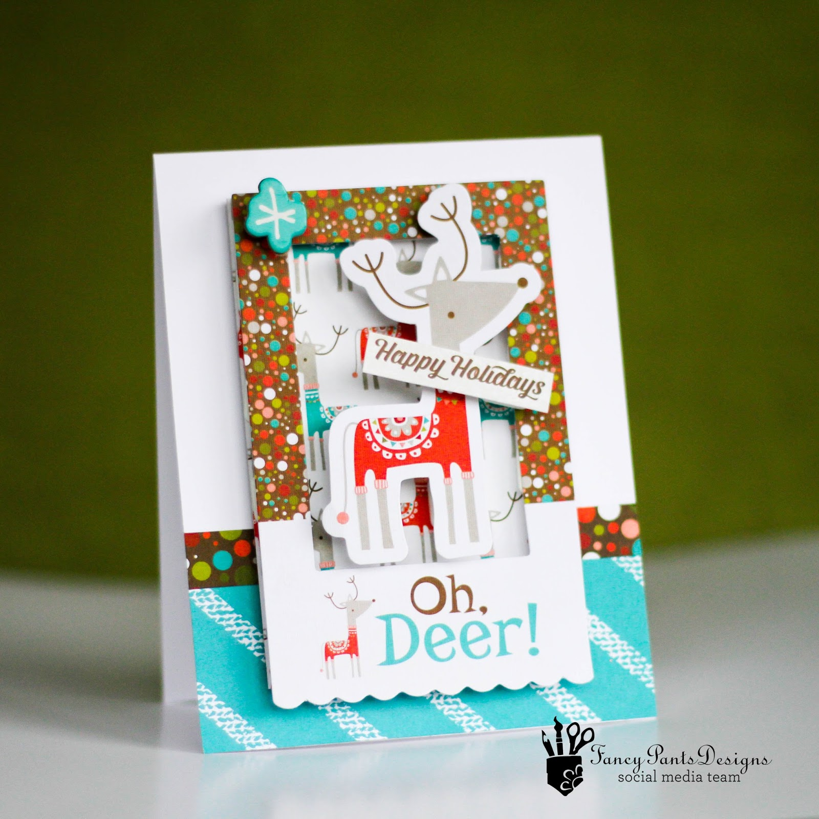 designs by latisha yoast fancy pants designs oh deer christmas cards - Fancy Christmas Cards