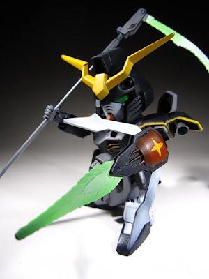 SD Gundam Deathscythe custom