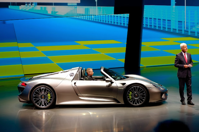Porsche 918 Spyder: Full and Complete Specs